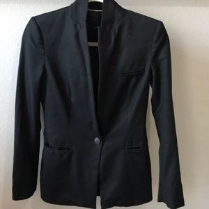 ZARA Fitted Black Blazer